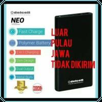 DELCELL NEO 10000 MAH ORIGINAL POWERBANK DELCELL NEO SLIM 10000 Mah