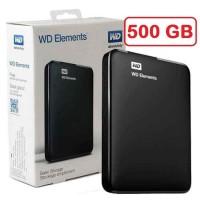 Hardisk HDD EX External 500GB Merek WD Original 100% penyimpan data