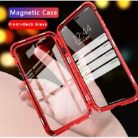 iphone XR double side magnetic case