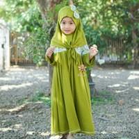 eLBi Poppy Dress Set - Setelan Baju Gamis Anak Perempuan Bayi Balita
