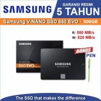 """SSD Samsung 860 EVO 500GB - SSD Internal 2.5"""" 3D Nand SATA III"""