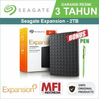 Seagate Expansion 2TB - HDD / HD / Hardisk Eksternal / External 2.5