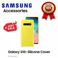 100% Original Samsung Galaxy S10plus Silicone Cover Yellow