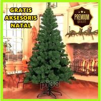 Pohon Natal Premium (Tinggi 180cm) Murah Christmas Tree PVC - 33.27