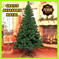 Pohon Natal Dekorasi Natal Tinggi 1,5 Meter Murah