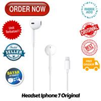 headset Iphone 7 Original 100% earphone Apple Iphone 7