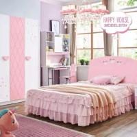 Kamar set anak pink hhse872