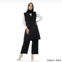 Outerwear Muslim Wanita | Casual Vest | Rompi Original