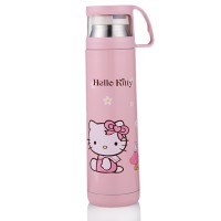 Botol Thermos Hello Kitty Stainless Steel 350ML Pink