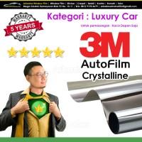 Kaca Film / Kacafilm Mobil 3M Crystalline / Luxury Car / Kaca Depan