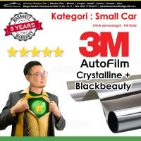 Kaca Film / Kacafilm Mobil 3M Crystalline + BB / Small Car / Full Body