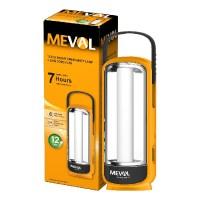 Meval 12 LED Bright Emergency + 0.5W Senter LED - Putih