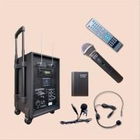 Portable sound system amplifier speaker AUDERPRO A SXza29721