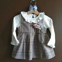 Baju anak bayi dress import buat pesta kado