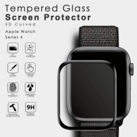 Tempered glass Apple watch iwatch 5 4 full cover 3D premium 40 44 mm
