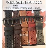 Leather strap apple watch iwatch 5 4 3 2 vintage kulit 42 / 44 mm