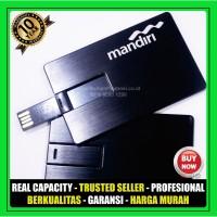 USB Flashdisk Kartu METAL FDCD15 Souvenir Promosi 4GB 8GB 16GB 32GB