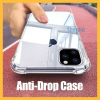 Case iPhone 11 Pro Max X XS XR 7 8 Plus Soft Casing Bening Transparan - 11