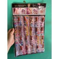 Mainan anak kuku palsu kuku cantik murah nail art isi 120