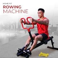 HOME FIT Rowing Machine - Mesin Olahraga Dayung - Fitness/Gym di Rumah