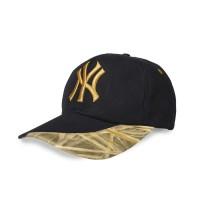 Topi Baseball Bordir Twister NYC Hitam