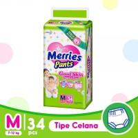 Merries Popok Pants Good Skin - M 34