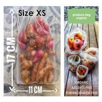 Organic Produce Bag Reusable Bag Tas Reusable Size XS Item Ringan
