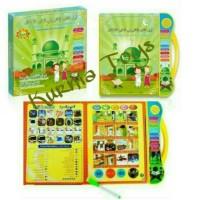 Mainan Anak Edukasi Playpad E book Buku Pintar Muslim 3 Bahasa