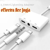 Spliter Lighthing Audio+Charge for Iphone 7-8-X-Xs