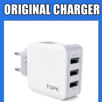 CHARGER 3 PORT ORIGINAL / CHARGER TRAVELLING / CHARGER HP 3 COLOKAN