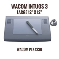 Wacom Intuos 3 Large PTZ 1230 Drawing Tablet