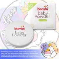 DRS Bambi Compact Powder 40 gram dan wadah tempat bedak bayi