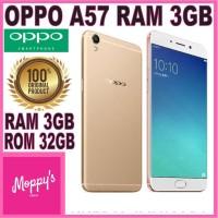 OPPO A57 RAM 3GB ROM 32GB GARANSI RESMI OPPO INDONESIA ORIGINAL 100%