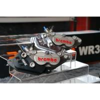Breket Kaliper WR3 Depan Honda ADV 150cc Termasuk Kaliper Brembo 4p1p
