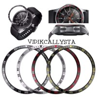 Ring Plat bezel watch samsung galaxy Gear s3 46mm OEM stainless