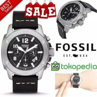 Jam Tangan Pria Merk Fossil FS 4928 & FS4928 Original Free Yes