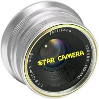 Lensa 7artisan 25mm f 1.8 Fuji - silver dfg 8947