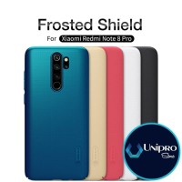 Hard Case Nillkin Super Frosted Shield Xiaomi Redmi Note 8 Pro Casing