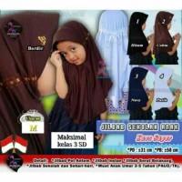 Jilbab Anak Sekolah SD Pita Biasa RABBANI