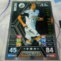 "soccer card ""michu - premier league - swansea city"" 2013-14"