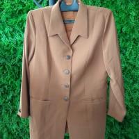 Kemeja Kerja Wanita (warna chocolate brown)