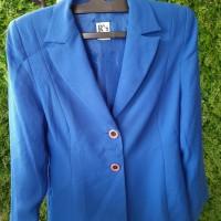 Kemeja Kerja Wanita (warna blue)