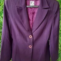 Kemeja kerja wanita (warna purple)