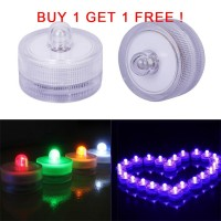 Bayar Di Tempat BUY 1 GET 1 FREE Lampu Lilin LED Elektronik Romantis T
