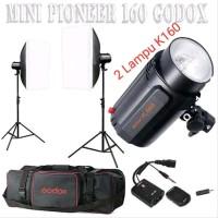 Godox K160 Mini Pioner Paket Lampu Studio