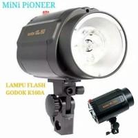 Godox K160 Mini Pioneer / Lampu studio Godox K160 Mini Pioneer - Hitam