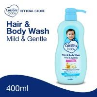 Cussons Baby Hair & Body Wash Mild & Gentle Pump 400ml