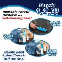 Fur wizard Pembersih Bulu Kucing dan Anjing / Sikat Grooming Pembersih