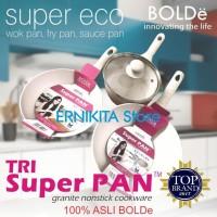 SUPER PAN BOLDe | PANCI GRANITE CERAMIC COOKWARE SET | FREE BUBBLE
