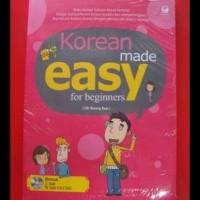 PROMO KOREAN MADE EASY FOR BEGINNERS + CD - OH SEUNG EUN BEST SELLER!